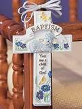 Baptism Cross Adornment