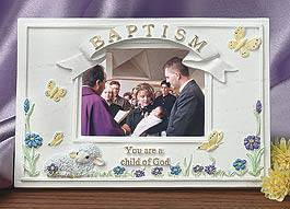 Baptismal Photo Frame