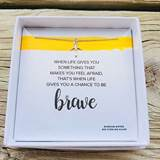 Be Brave Necklace Sterling Silver