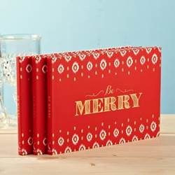 Be Merry Christmas Book