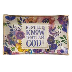 Be Still and Know Trinket Tray