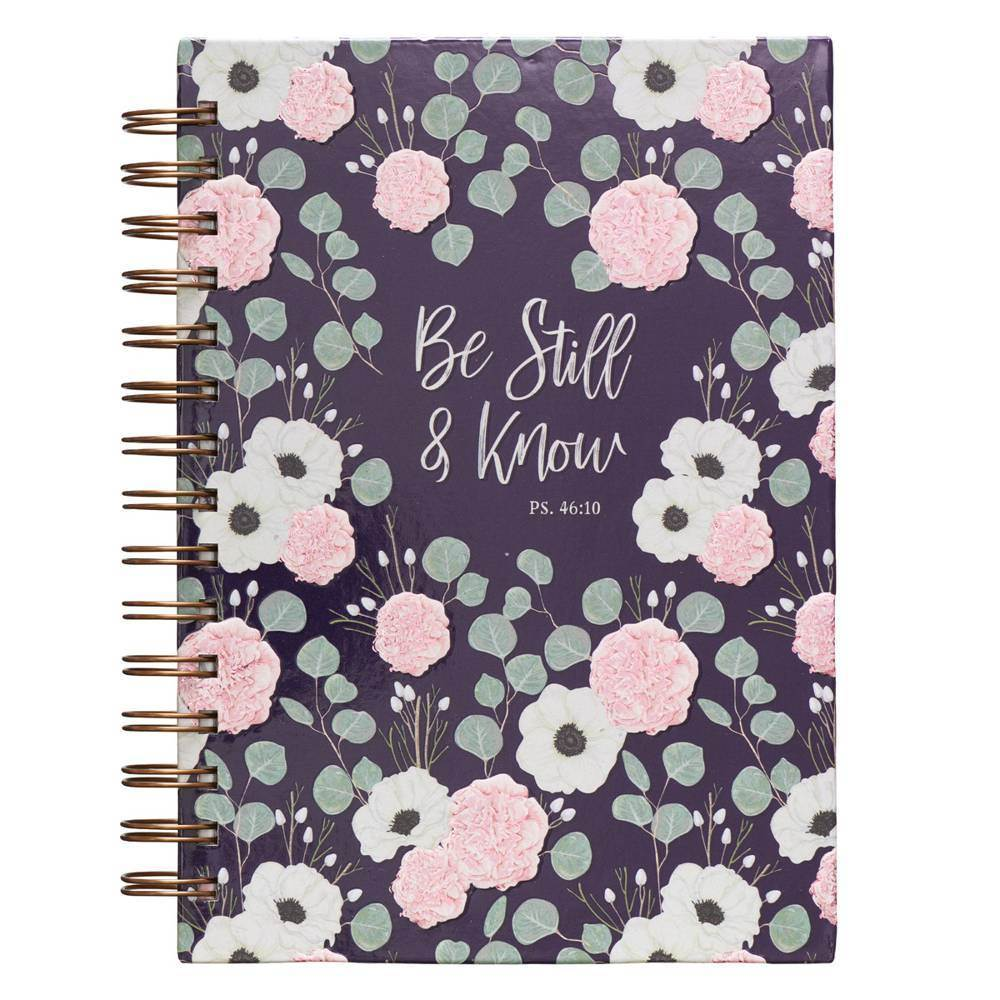 Be Still and Know Wirebound Journal