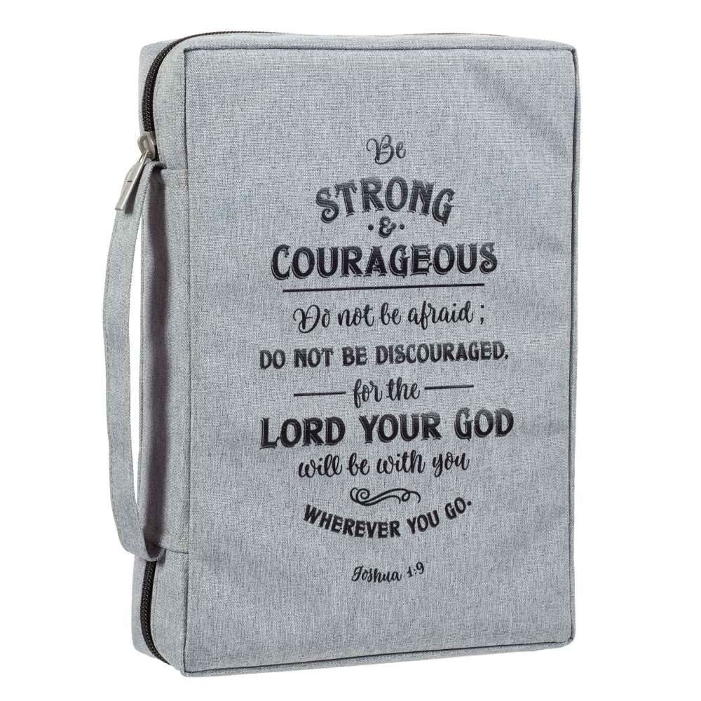 Be Strong and Courageous Bible Cover