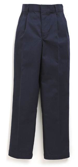 Girls Becky Thatcher Elastic Back Pleated Pants Navy uniform pants, girls pants, pleated front, navy, school pants, navy blue, 4019LG, 4019GR, 4019GS, 4019 GH