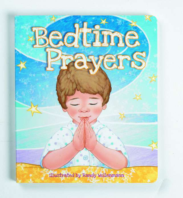 Bedtime Prayers Kids Board Book