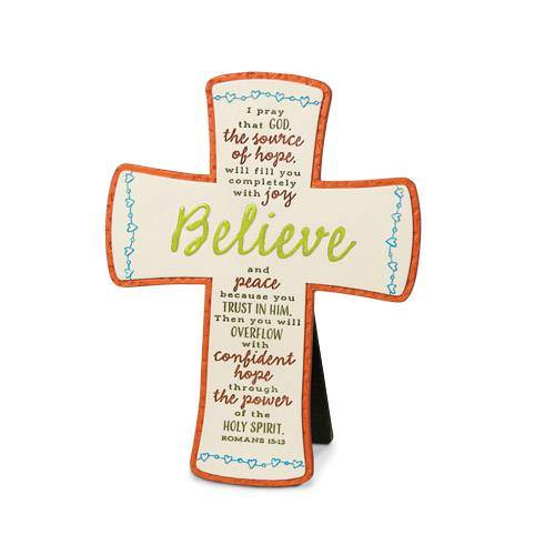 Believe Table Cross