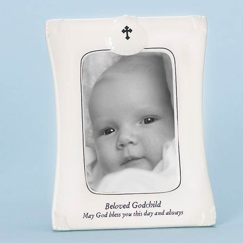 Beloved Godchild Frame 63134,baby gift,baptism gift, christening gift, new baby, baby frame, photo frame