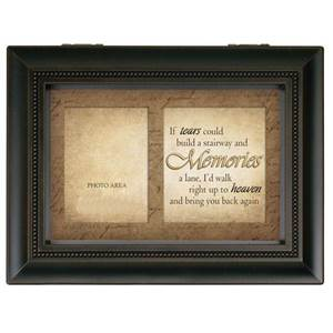 "Bereavement Large Music Box ""Tears Memories"""