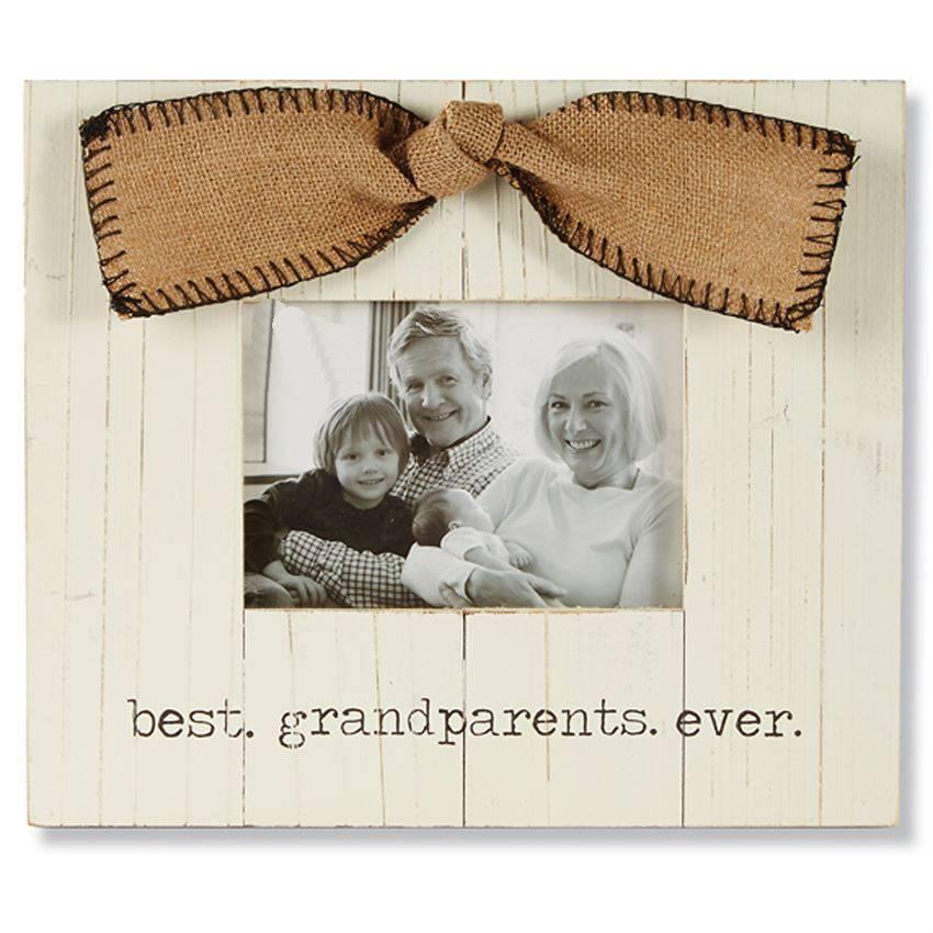 Best Grandparents Ever Wood Frame