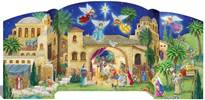 Bethlehem Nativity Advent Calendar 3D