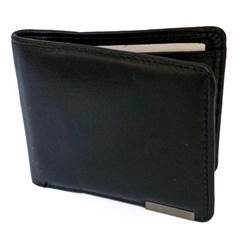 Bi fold Leather Wallet With John 3:16