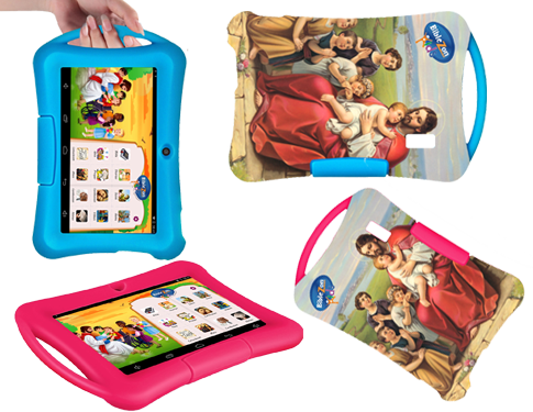 Biblezon Kids Tablet Case Biblezon Kids Carrying Case, protective case, tablet case, tablet cover, biblezon case, biblezon tablet cover