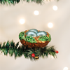 Bird Nest Clip on Ornament
