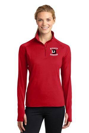 Bishop Dubourg Ladies 1/4 Zip Performance Pullover