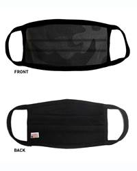 Black Camo Adult Face Mask
