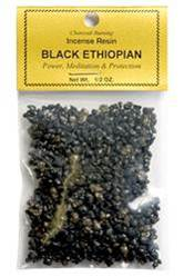 Black Ethiopian - Incense Resin - 1/2 OZ