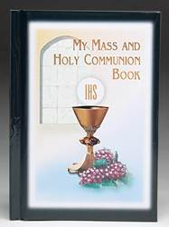 Black My Mass and Holy Communion Book
