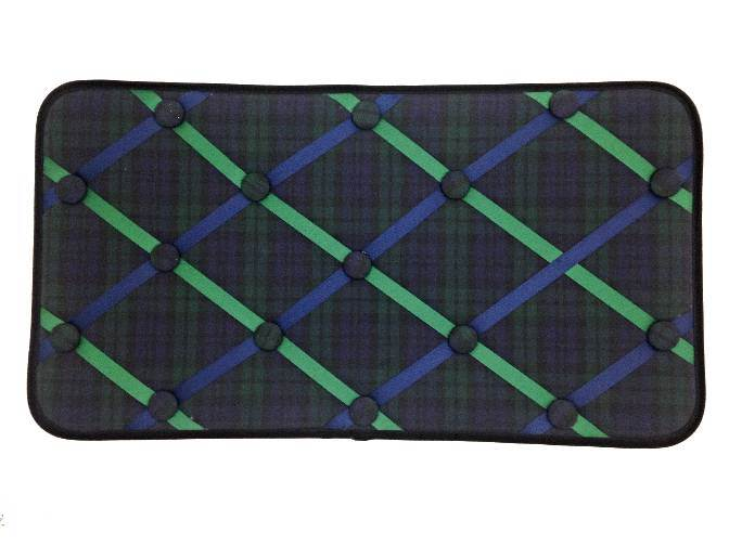 Blackwatch Plaid Memory Board/Note or Photo Holder