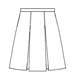 Blackwatch Poly/Cotton Box Pleat Uniform Skirt *WHILE SUPPLIES LAST*
