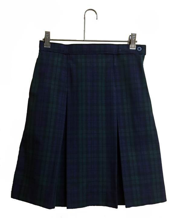 Blackwatch Poly/Cotton Box Pleat Uniform Skirt *WHILE SUPPLIES LAST* - PT3477