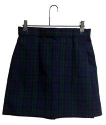 Blackwatch Poly/Cotton Wrap Front Skort *WHILE SUPPLIES LAST* SJM,