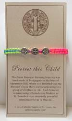 Bless This Child St. Benedict Bracelet