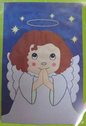 Blessed Angel House Flag