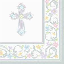 Blessed Day Napkins 719420, partyware napkins, partyware first communion, paper napkins, blessed day napkins,partyware, paper product, sacramental party supplies, first communion partyware, reconciliation partyware, confirmation partyware,boy partyware, girl partyware