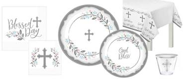 Blessed Day Paper Plates, Napkins, & More