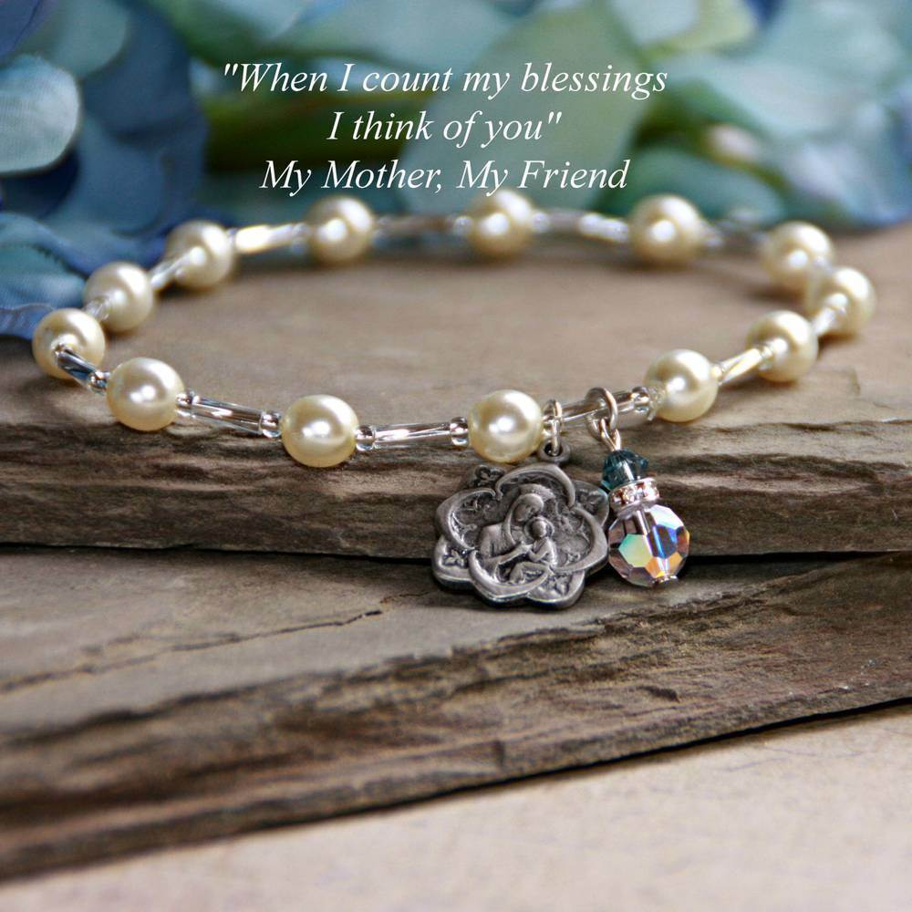 Blessed Mary Mother Bracelet