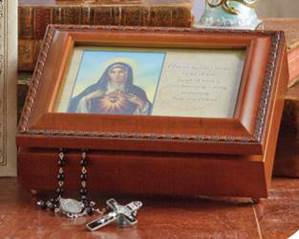 Blessed Mother Music Box