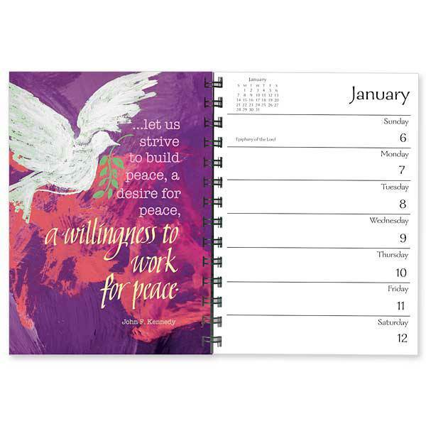 Blessed are the Peacemakers 2019 Desk Calendar