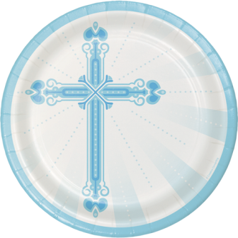 Blessing Blue Plates