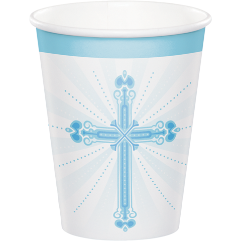 Blessings Blue Cup 18/pkg