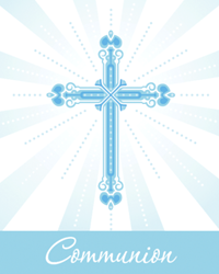 Blessings Blue FC Invitation 25/pkg