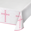 Blessings Pink Plastic Tablecover