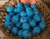 Blue Cord Rosary in Mini Plastic Easter Egg