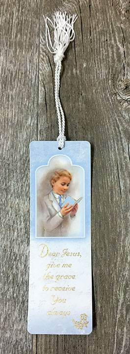 Boy First Communion Bookmark