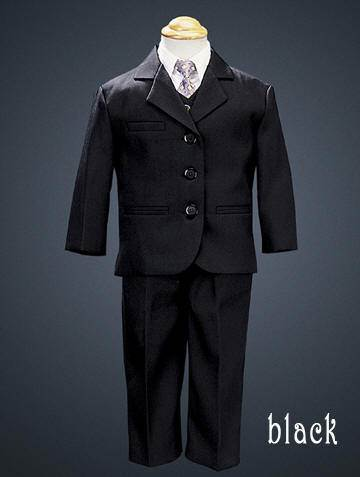 Boys 5 Piece Suit Navy