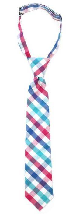 Boys Gingham Necktie