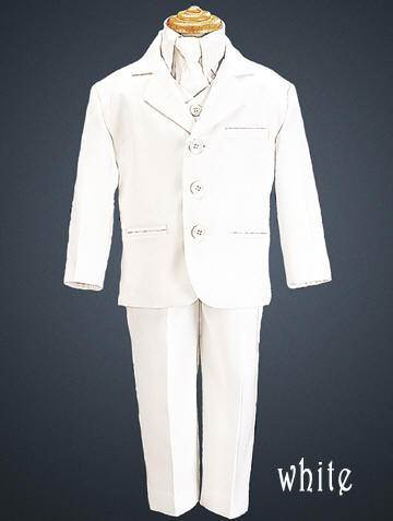 Boys white Suit