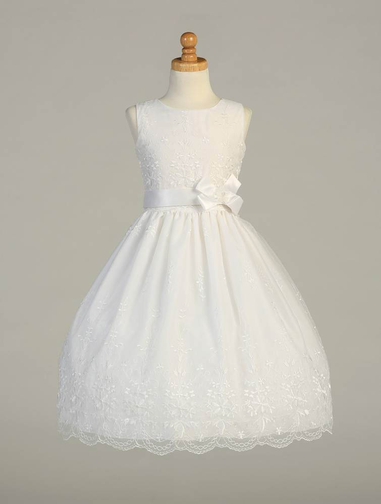 Bridget First Communion Dress *WHILE SUPPLIES LAST* first communion dress, girls dress, white dress, special occasion dress, flower girl dress, cap sleeve,SP110, LITO SP110