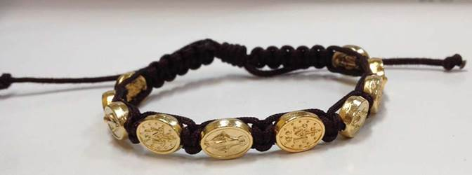 Brown/Gold Miraculous Bracelet