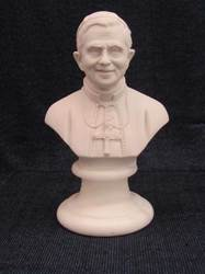 Bust of Pope Benedict XXVI pope benedict xxvi, papel statue, pope benedict statue, marble resin statue, home decor, church decor, 01150.15