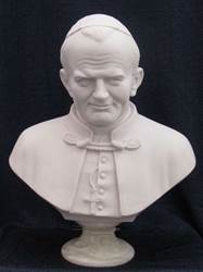 Bust of Pope John Paul II