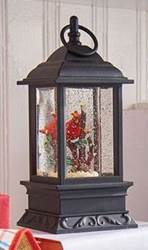 Cardinal Lighted Water Lantern 9.5""
