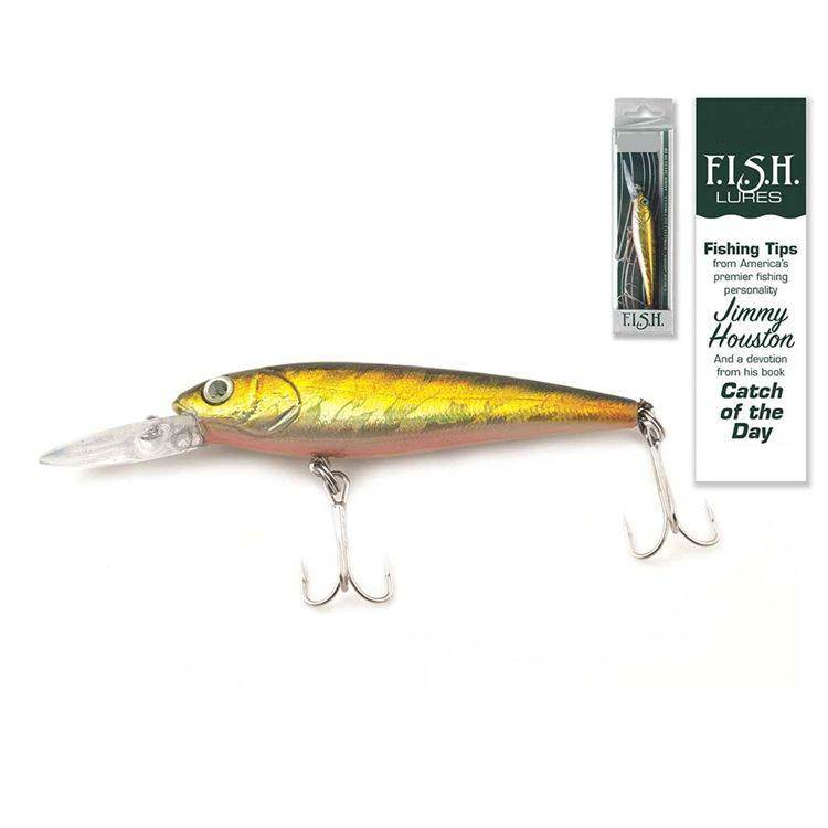 Catch of the Day Lure-Mid Diver Golden Shad