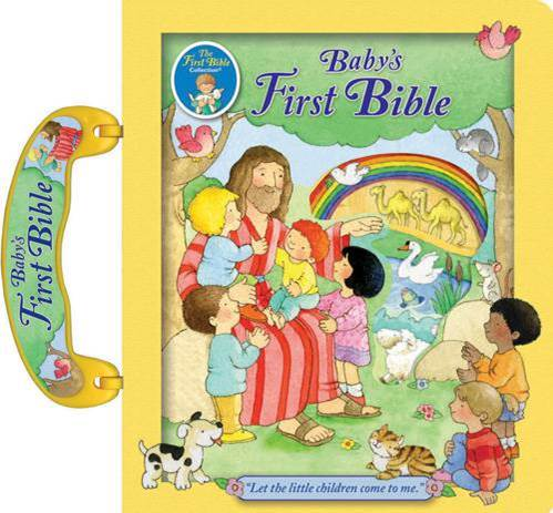 Catholic Babys First Bible baby bible, catholic baby bible, baptism gift, new baby gift, hardcover, color bible, 978-0-88-271714-2 ,9780882717142,JUDITH BAUER