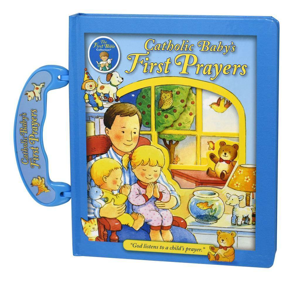 Catholic Baby's First Prayers Board Book With Handle 9780882717159
