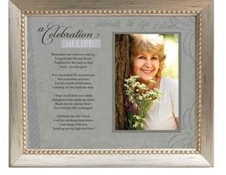 Celebration of Life Silver Frame